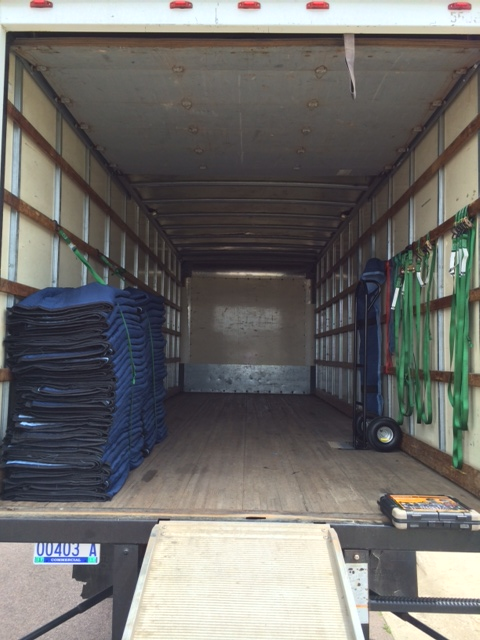 Clean Moving Truck - South Dakota Movers